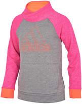 adidas Long Sleeve Sweatshirt - Preschool Girls
