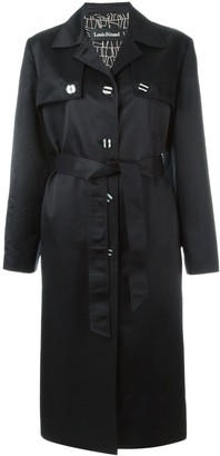 Louis Feraud Pre Owned Long Trench Coat