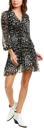 The Kooples Coromandel A-Line Dress