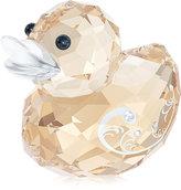 Swarovski Collectible Figurine, Happy Duck, Miss Elegant