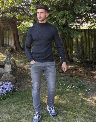 Esprit skinny fit jeans in gray