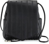 Cynthia Vincent Linear Quilted Crossbody Bag, Black