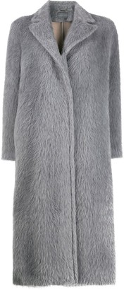 Alberta Ferretti Oversized Single-Breasted Coat
