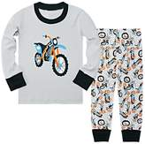 Kidslove Airplane Boys Pajama Sets 100% Cotton Sleepwear O-neck