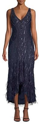 Parker Embellished Sequin Sydney Midi Dress