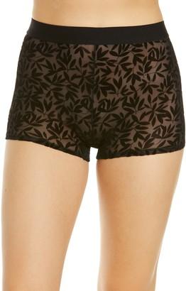 KILO BRAVA Flocked Mesh Lady Shorts