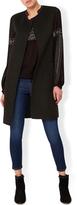 Monsoon Florence Double Face Sleeveless Coat