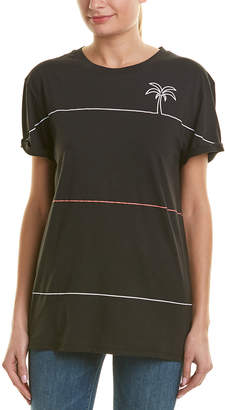 Chrldr Palm Lines Boyfriend T-Shirt