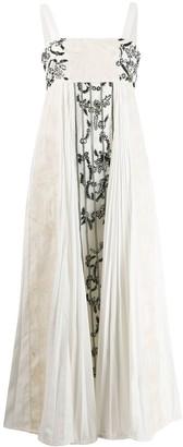 Rahul Mishra Echecs lace dress