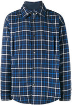 Balenciaga plaid shirt jacket