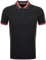 Calvin Klein Pobas Polo T Shirt Black