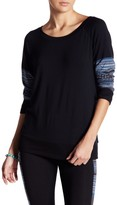 Threads 4 Thought Tavi Contrast Geometric Print Pullover