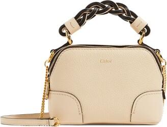 Chloé Mini Leather Daria Cross-Body Bag