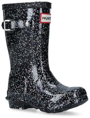 Hunter Glitter Original Wellington Boots