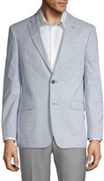 Tommy Hilfiger Striped Suit Jacket