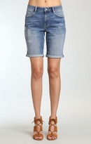 Mavi Jeans Alexis Shorts In Mid Ripped
