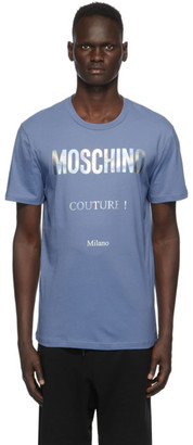 Moschino Blue Couture T-Shirt