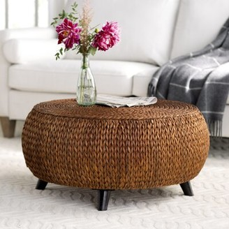 Beachcrest Home Nobles Coffee Table Color: Gold Patina