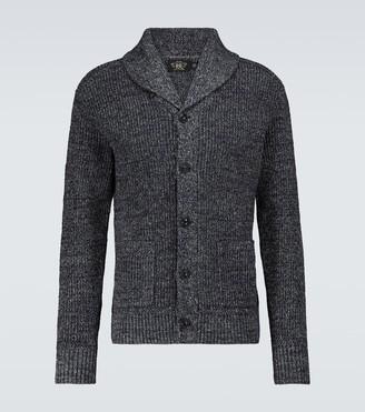 Ralph Lauren RRL Cotton and linen shawl cardigan
