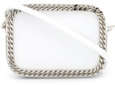 Casadei chain detailed crossbody bag