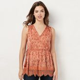 Lauren Conrad Women's Lace Tunic