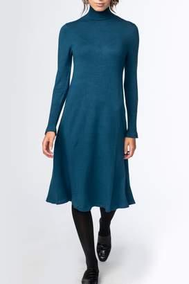 Meli By Fame TURTLENECK FLARE DRESS