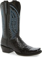 Ariat Super Stakes Ostrich Leather Cowboy Boot (Men)