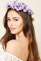 Forever 21 Rose Flower Crown Headwrap