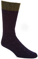 UGG Classic Color Block Ribbed Knit Crew Socks