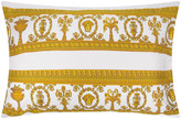 Versace Barocco & Robe King Size Pillowcase Pair - White/Gold