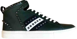Bally Green Leather Trainers