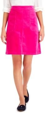 Charter Club Corduroy A-Line Skirt, Created for Macy's