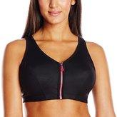 Glamorise Women's Plus-Size High Impact Magiclift Zippered Sports Bra