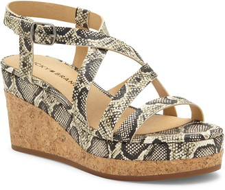 Lucky Brand Batikah Strappy Wedge Sandal