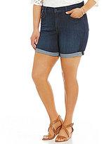 NYDJ Plus Avery Shorts