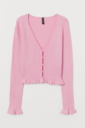 H&M Short Cardigan - Pink