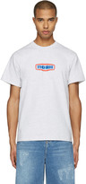 Noah Grey Gas Station Logo T-shirt