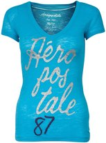 Aeropostale Women Sheer Fitting Tshirt