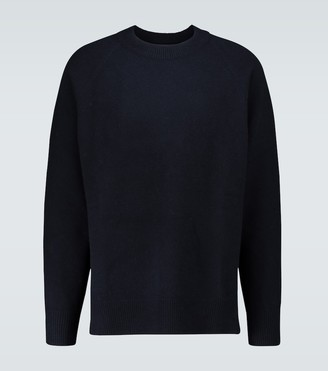 Jil Sander Virgin wool asymmetric hem sweater