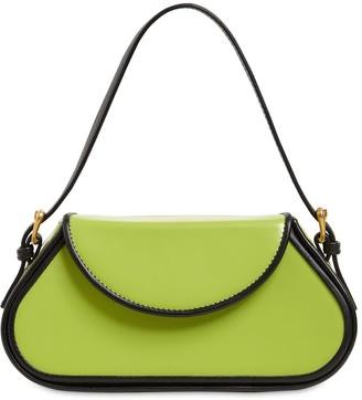 BY FAR Uma Mini Semi Patent Leather Bag