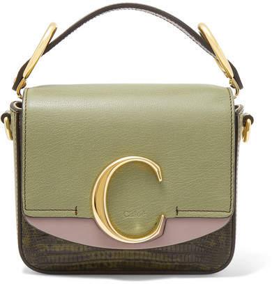 7b4917631d1 Chloé Green Leather Handbags - ShopStyle