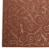 Scroll Silk & Wool Rug in select Colors