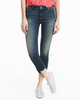 White House Black Market Straight-Leg Crop Jeans