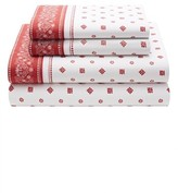 Tommy Hilfiger Bandana Scarf Sheet Set