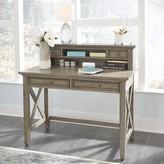 Darin Reversible Desk with Hutch Gracie Oaks