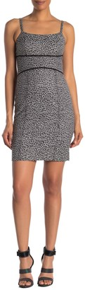 Rachel Roy Natasha Leopard Print Mini Dress (Regular & Plus Size)