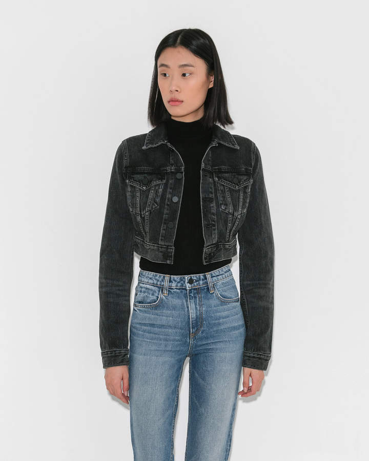 Alexander Wang Bare Cropped Jacket