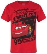Cars Childrens/Boys Official Lightning McQueen T-Shirt