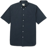 Rag & Bone Button-Down Collar Cotton Shirt