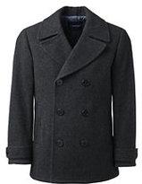 Classic Men's Wool Peacoat-Vibrant Zest
